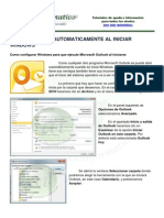 Abrir Outlook Con Windows