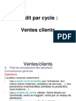 Audit Par Cycle Ventes Clients