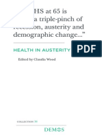 Wood, C. (Ed.) (2013). Health in austerity. Demos, London