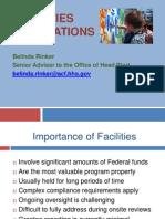 N E HSA Facilities Foundations