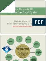 N E HSA Fiscal Systems