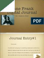 anne frank digital journal