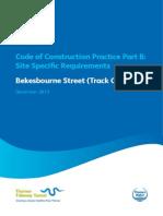 CoCP Part B Bekesbourne Street Track Changes