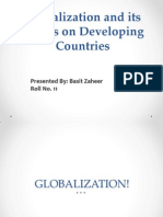Globalization and Its Effects on Developing Countries