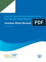 CoCP Part B Chambers Wharf Revised