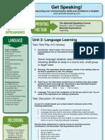Unit 02 Language Learning