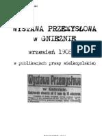 Wystawa Przemyslowa GNIEZNO 1908