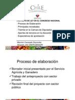 PI en Chile trámite cambio ley 19.342 M. Caussade