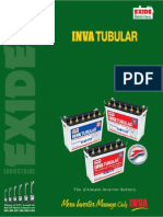 EXIDE Battery Catalogue - IT400to750 Leaflet