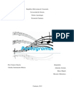 El Pentagrama- Instrumentos Udo