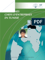 Les Femmes Chefs d'Entreprises en Tunisie