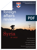 Foreign Affairs Review Issue 1, December