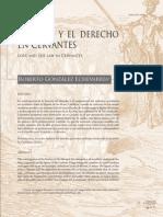 El Amor y El Derecho en Cervantes