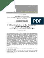 Critical Evaluation of the UN