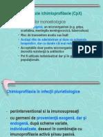 MD LP 3 - Chimioprofilaxie 2013