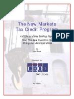 New Markets Tax Credit Program