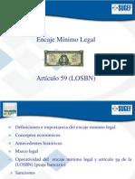 Presentación Encaje Mínimo Legal