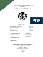 Laporan Praktikum Properti Material Perhitungan Campuran Beton