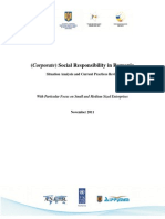 Analysing CSR status in Romania