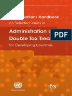 UN Handbook DTT Admin TAX