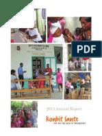 Konbit Sante Annual Report 2013