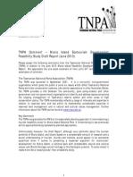 Tnpa Submission Maria is Ecotourism Fs Draft Report 23jun13