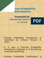 Poisson Probability Distribution 97 2003