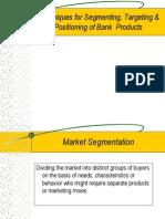 Segmenting Targeting & Positioning