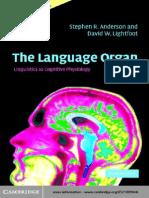 Lang Organ Book 284pp