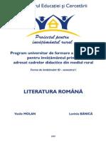 Literatura Romana 1