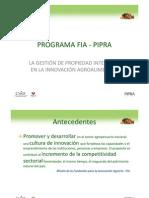 Programa Fia - Pipra