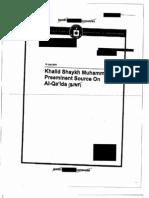 34_Khalid Shaykh Muhammad--Preeminent Source on Al-Qaida