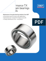 SKF TX Spherical Plain Bearings