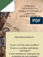 MODULO I - PRINCÍPIOS E MODELOS ECONÔMICOS