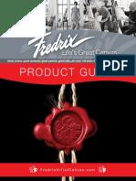 Fredrix 2014 Product Guide