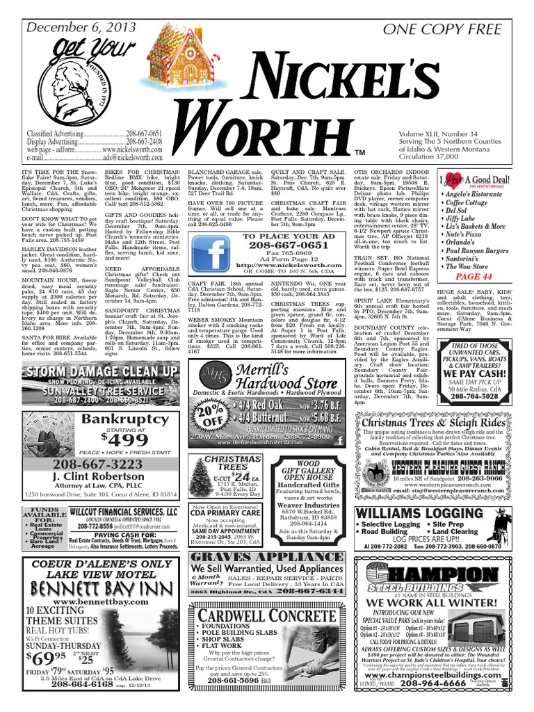 Nickel's Worth Issue Date 12-6 | The Nutcracker | Christmas