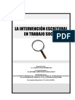 La Intervencion Escritural en T.S.