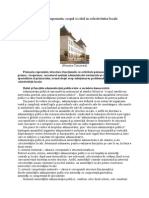 Primaria – componenta, scopul si rolul in colectivitatea locala
