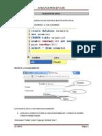 Validacion de Datos Jsp