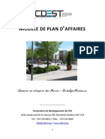 Mod Le Plan Daffaires CDEST