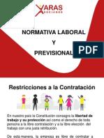 2.- Normativa Laboral y Previsional