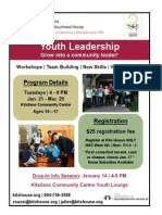 Youth Leadership - January 2014 Poster