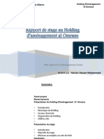 Rapport de stage Administration