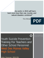 Suicide Prevention PowerPoint- For Teachers