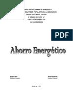 Ahorro Energetico KEIBER CHAVEZ