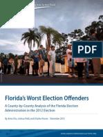 Fl Voting Report
