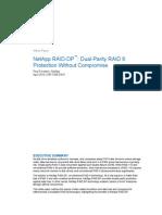 Wp-7005 NetApp RAID-DP Dual-Parity RAID-6 Protection Without Compromise April 2010