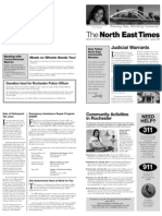 North East News Letter Spring 09