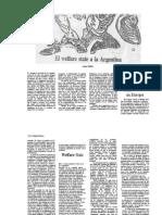 El Welfare State a La Argentina - L[1]. Golbert