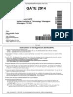 GATE 2014 A381U38Application